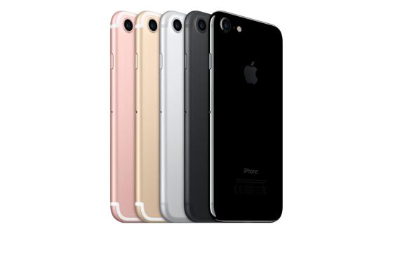 Das iPhone 7 erfüllt die hohen Anforderungen der Schutzklasse IP67.