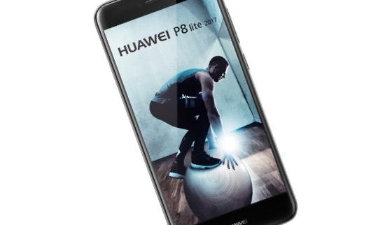 Das leuchtstarke Display des Huawei P8 lite ist für alle Situationen des Alltags geeignet.