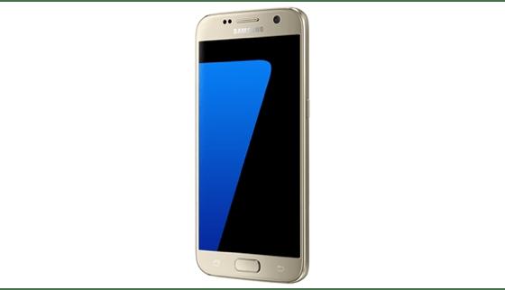Das Display des Samsung Galaxy S7 trumpft mit vierfacher HD-Auflösung auf.