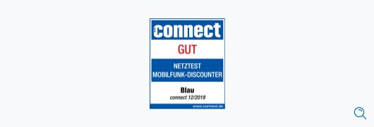 Blau im Test: connect – Netztest