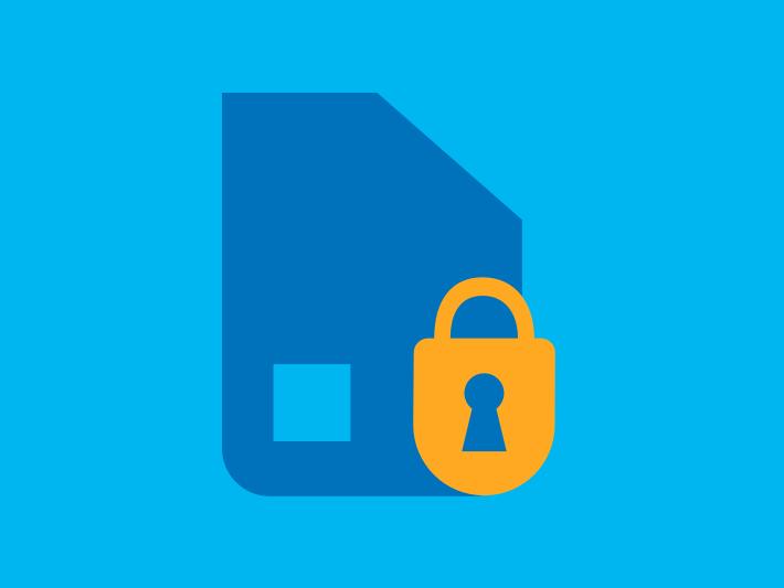 SIM-Karte sperren und entsperren