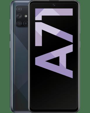 Samsung Galaxy A71 mit Blau Allnet XL