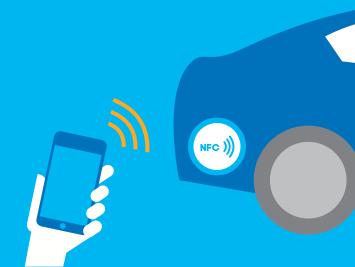 NFC-Tags können Daten passiv übertragen.
