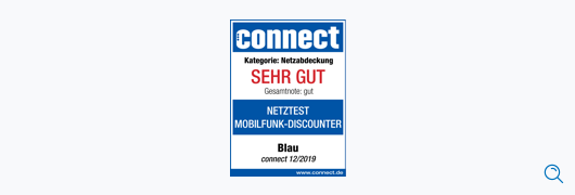 Blau im Test: connect – Netzabdeckung