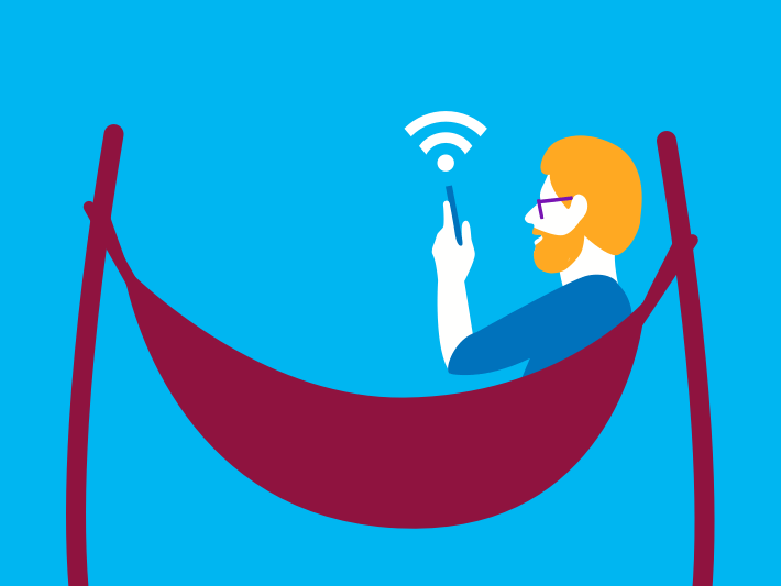 Handy mit WLAN verbinden