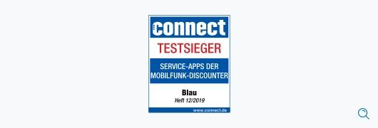 Blau im Test: connect – Service-Apps