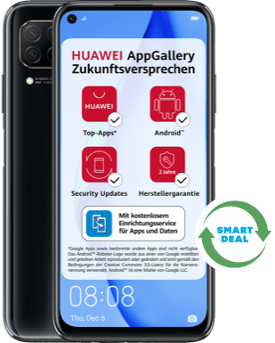 Huawei P40 lite (Neuwertig) mit Blau Allnet XL