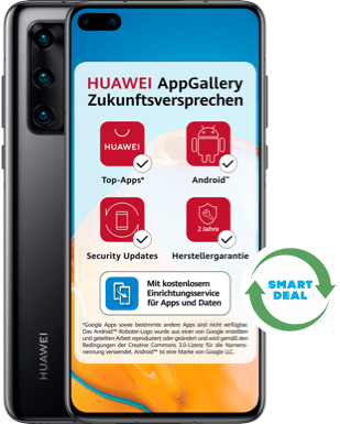 Huawei P40 (Neuwertig) mit Blau Allnet L