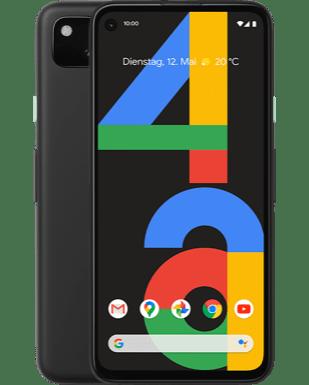 Google Pixel 4a mit Blau Allnet L