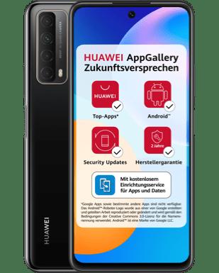 Huawei P smart 2021 mit Blau Allnet XL