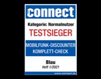 connect Mobilfunk Discounter Komplett Check